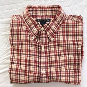 Brooks Brothers cotton short sleeve shirt size L